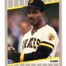 Barry Bonds Trading Card Single 1989 Fleer #202 Pirates