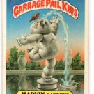 Marvin Gardens Sticker 1986 Topps Garbage Pail Kids #92a EX+