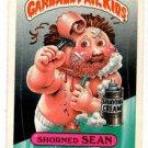 Shorned Sean Sticker 1986 Topps Garbage Pail Kids #161a.