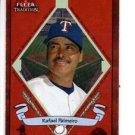 Rafael Palmeiro Banner Season Trading Card 2003 Fleer #494 Rangers