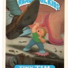 Tiny Tim Trading Card Sticker 1986 Topps Garbage Pail Kids #216a