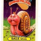 Dale Snail Sticker 1986 Topps Garbage Pail Kids #145a
