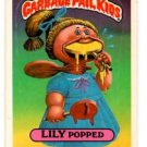 Lilly Popped Sticker 1986 Topps Garbage Pail Kids #223b
