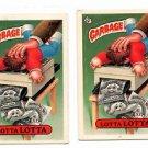 Lotta Lotta Sticker Lot of (2) 1987 Topps Garbage Pail Kids #330A NMT