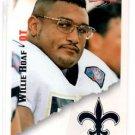 Willie Roaf Tradng Card Single 1995 Score #184 Saints