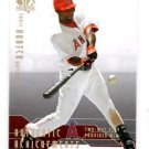 Torii Hunter Achievements Trading Card Insert 2008 UD SP Authenitc #AA32 Angels
