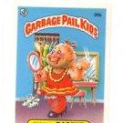 Kinky Dickie License Back Sticker 1985 Topps Garbage Pail Kids UK Mini #20b