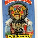 Wes Mess Sticker 1986 Topps Garbage Pail Kids #233a NMMT+