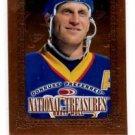Brett Hull Trading Card 1996-97 Donruss Preferred National Treasures 193 Canucks
