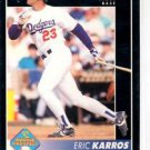 Eric Karros Prospect Trading Card Single 1992 Pinnacle #256 Dodgers