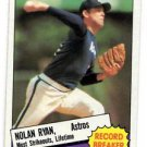 Nolan Ryan Trading Card Single 1985 Topps #7 Astris NMMT Centered