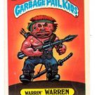 Warrin Warren Sticker 1986 Topps Garbage Pail Kids #156a NMT
