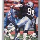Winston Moss Trading Card Single 1993 Fleer #445 Raiders