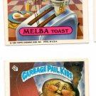 Hy Rye Melba Toast Sticker 1986 Topps Garbage Pail Kids #143a #143b
