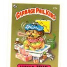 Virus Iris License Back Sticker Card 1985 Topps Garbage Pail Kids UK Mini #21a
