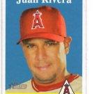 Juan Rivera Trading Card Single 2007 Topps Heritage #227 Angels