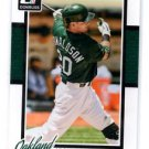 Josh Donaldson Trading Card Single 2014 Donruss #97 Athletics