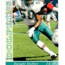 Dwight Hollier RC Tradng Card Single 1993 Upper Deck #524 Dolphins