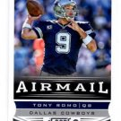 Tony Romo Airmail Trading Card Single 2013 Score #229 Cowboys
