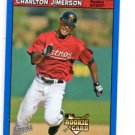 Charlton Jimerson RC Blue Fortune SP 2006 Topps Bazooka #209 Astros