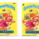 Screaming Mimi Bea Sting Sticker Lot 1986 Topps Garbage Pail Kids #237a 238b