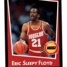 Eric Sleepy Floyd Trading Card Single 1994-95 Panini Sticker #87 Rockets