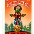 Tatum Pole Sticker 1986 Topps Garbage Pail Kids #107b NMT