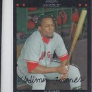 Vladimir Guerrero Trading Card Single 2007 Topps Chrome #115 Angels QTY