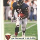 Rashaan Salaam Trading Card Single 1996 Score Board NFL Experience #62 Bears
