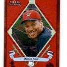 Moises Alou Banner Season Trading Card Single 2003 Fleer Tradition #476 Astros