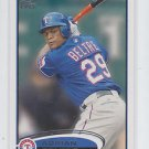 Adrian Beltre Trading Card Single 2012 Topps #310 Rangers