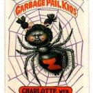 Charlotte Web Sticker 1986 Topps Garbage Pail Kids #98a NMMT+