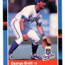 George Brett Trading Card Single 1988 Donruss #102 Royals NMMT