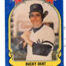 Bucky Dent Trading Card Single 1981 Fleer Super Star Stickers #110 Yankees