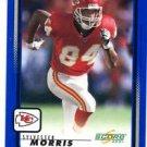Sylvester Morris Trading Card Single 2001 Score #98 Chiefs