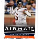 Jay Cutler Airmail Trading Card Single 2013 Score #226 Bears