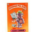 Scary Carrie License Back Sticker 1985 Topps Garbage Pail Kids UK Mini #25b