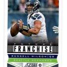 Russell Wilson Future Franchise Trading Card Single 2013 Score #327 Seahawks