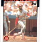 Ozzie Smith Trading Card Single 1986 Topps #730 Cardinals