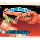 Sling Scott Sticker 1987 Topps Garbage Pail Kids #332A EX+