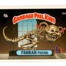 Farrah Fossil Sticker 1986 Topps Garbage Pail Kids #88b NMMT+