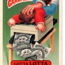 Dupli-Kit Lotta Lotta Sticker Lot (2) 1987 Topps Garbage Pail Kids #330a #330b