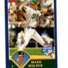Mark Mulder Get a Hit Sticker Trading Card Insert 2003 Topps Opening Day NMMT