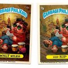 Walt Witless Hip Kip Sticker 1986 Topps Garbage Pail Kids #134a 134b