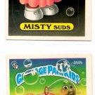 Misty Suds Amelia Airhead Sticker 1987 Topps Garbage Pail Kids #350a 350b