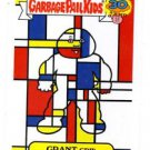 Grant Grid Artistic Influence Single 2015 Topps Garbage Pail Kids #9b