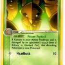 Kakuna Uncommon Trainer Pokemon Ex FireRed and LeafGreen 36/112