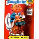Cow Chips Coolidge Presidents Sticker 2015 Topps Garbage Pail Kids #1b
