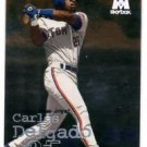 Carlos Delgado Trading Card Single 1999 Molten Metal #100 Blue Jays
