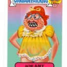 Acne Amy Zoom Out  Sticker Trading Card 2015 Topps Garbage Pail Kids #4b